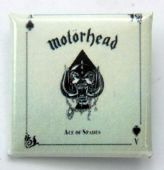 Motorhead - 'Ace of Spades' Square Badge
